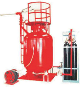 贮压悬挂式干粉灭火装置/Stored Pressure Hanging Powder Fire Extinguisher